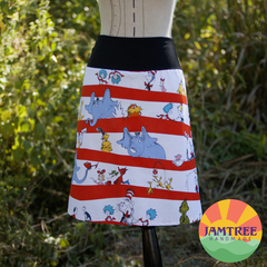 Dr Suess Ladies Skirt sizes 6~24