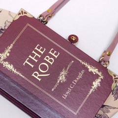 The Robe - Lloyd C. Douglas - Handbag made from a book