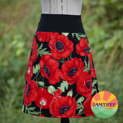 Poppy Skirt. Ladies sizes 6~24