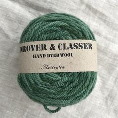 'Bunya Pine' 5ply hand dyed superfine merino yarn 100g/ 340m