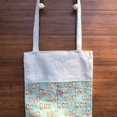 Upcycle & Recycle Tote, Babushka Doll Print