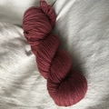 'Barn Red' 5ply hand dyed superfine merino yarn 100g/ 340g