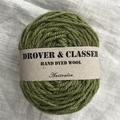 'Vine' 5ply hand dyed superfine merino yarn
