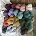 'Tutu' 5ply hand dyed superfine merino yarn