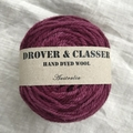 'Gooseberry jam' 5ply hand dyed superfine merino yarn 100g/ 340m