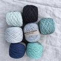 'Basalt' 5ply hand dyed superfine merino yarn 100g/340m