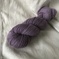 'Paterson's Curse' 5ply hand dyed superfine merino yarn