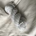 'Grey Mare' 5ply hand dyed superfine merino yarn 100g/ 340m