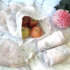 Reusable fruit and vege produce bags - set of four - eco friendly plastic free
