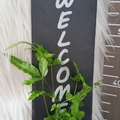 Kokedama Welcome Sign - Font 3