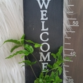 Kokedama Welcome Sign - Font 1