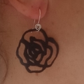 Rose Love, Drop Earrings