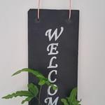 Kokedama Welcome Sign - Font 2
