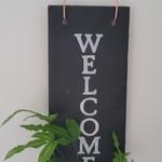 Kokedama Welcome Sign - Font 1