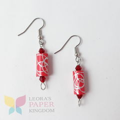 Scarlett Sensation Earrings