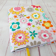 Girls Floral Journal Diary Notebook Cover