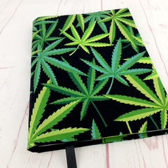 Medical Cannabis A5 Notebook Cover