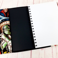 Gothic Horror A5 Journal Notebook Diary Cover, A5 Refillable Diary