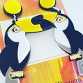 Toucan - Acrylic Dangle Earrings