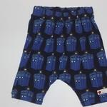 Handmade Tardis Harem Shorts Size 2