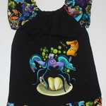 Handmade Ursula Flutter Sleeve Dress Size 2