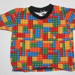 Handmade Lego T-shirt Size 2