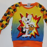 Handmade Danger Mouse Long Sleeve Top Size 3