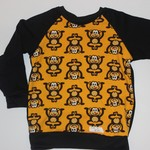 Handmade Monkey Long Sleeve Top Size 3