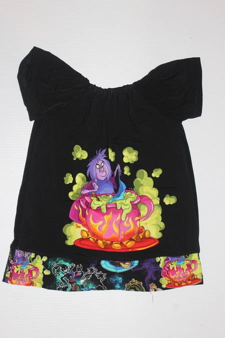 Handmade Disney Flutter Sleeve Dress Size 0