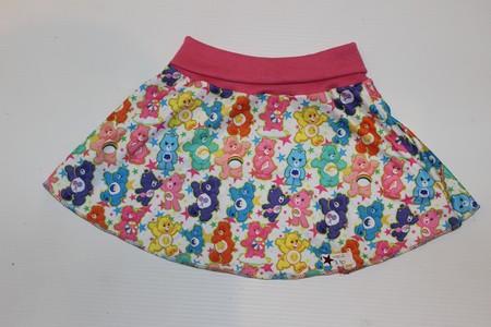 Handmade Care Bears Skater Skirt Size 2