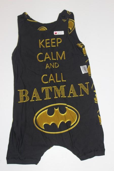 Handmade Batman Short Romper Size 2