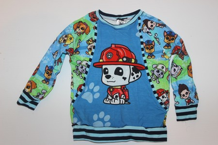 Handmade Marshal Paw Patrol Jumper with Front Pocket Size 3