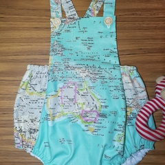 'The World' - romper/playsuit.  Size 1