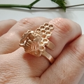 Bee Hive, Adjustable Ring