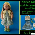"18"" Doll Dress and Accessories"