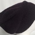 Unisex adult hand knit slouchy/beanie Cel Alpaca10%-wool85%-Silk  2/2
