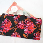 Red blossom wallet