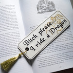 Dragon Embroidered Bookmark