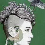 """""""Elusive"""" - Original Artwork (50 x 70cm)"""