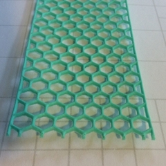 Hexagon Resin Border, chicken wire frame, chicken wire border, border box, lace