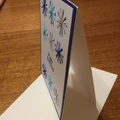 Feminine birthday card. Embellished