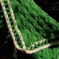 Hand knitted baby rug, for floor, car seat or pram. ON SALE!!!!