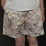 Ladies Floral Cotton Sateen Regular Leg Shorts 1/3 pages