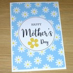 Mothers Day card- Daisy - 3 colour options