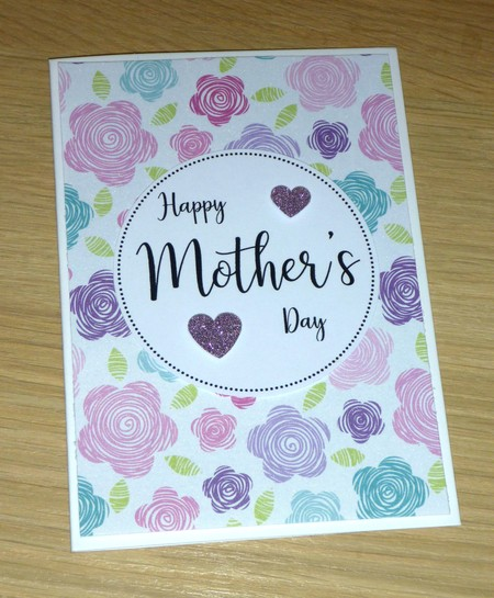 Mothers Day card- flowers