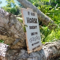 If Our Horse Doesn't Like You We Probably Won't Either Reclaimed Timber Sign