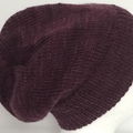 Unisex adult hand knit Italian Wool Slouchy-beanie Page 2/2