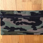 Khaki Green Camouflage Pencil Case