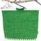 Upcycled Vintage Tea Towel Peg Bag