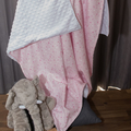 Baby blanket ~ Cotton and Minky